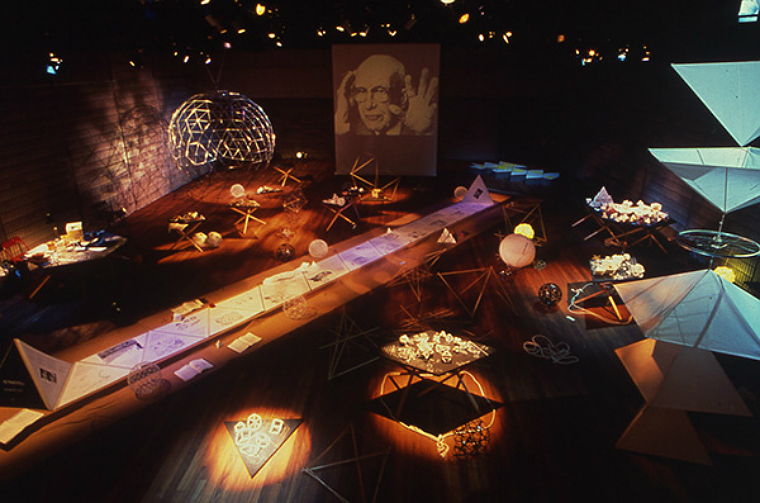 Synergetic Circus Buckminster Fuller's Sea of Intuition 25 April - 5 August 1989
