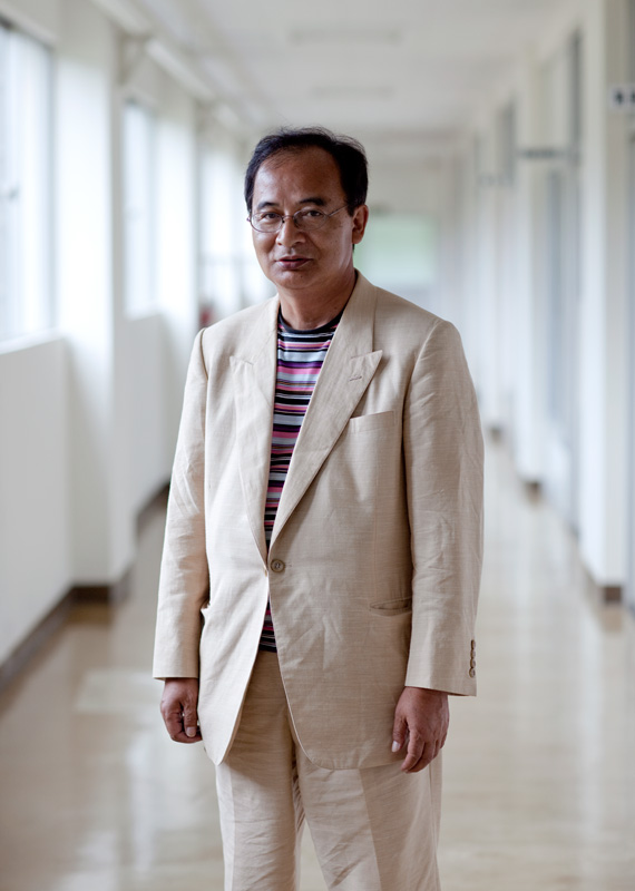 Fram Kitagawa, Director, Art Front Gallery. Image courtesy and copyright Art Front Gallery