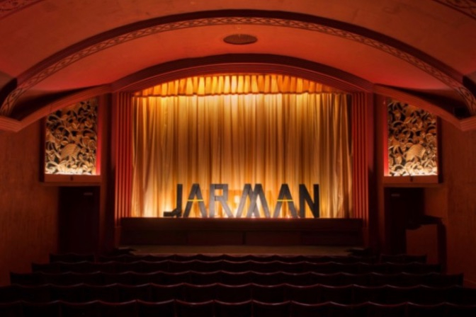 The Film London Jarman Award. Copyright and courtesy Film London