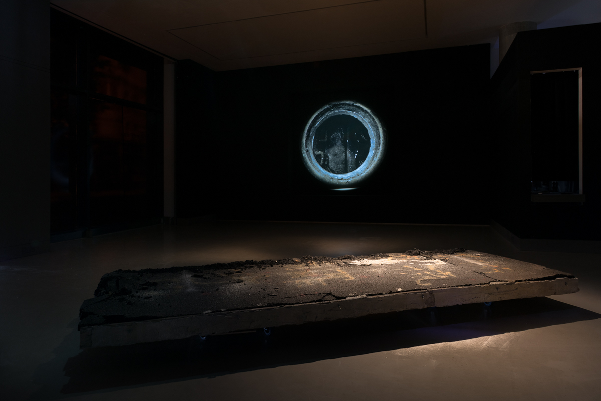 Chim↑Pom, 'Why Open?', installation view at White Rainbow, London, UK, 2018 © Chim↑Pom, Image: Damian Griffiths