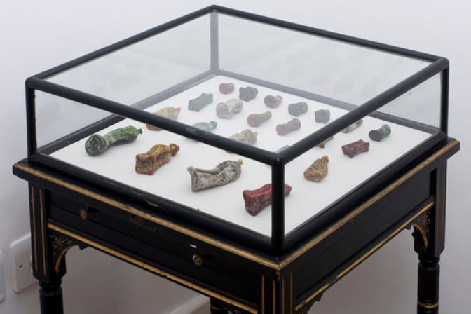 The Fan Chon Hoo, Curio Cabinet, Fan Chon Hoo: Into the World of Palpable Objects and Fruitful Delight (2011) Courtesy Fountain and copyright the artist.